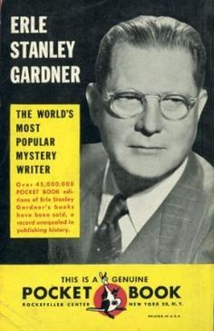 French Quarter resident and successful mystery writer, famous for the Perry Mason series, Erle Stanley Gardner.