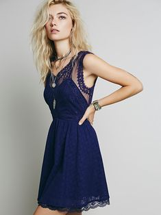 Free People Victoria Mini Dress at Free People Clothing Boutique