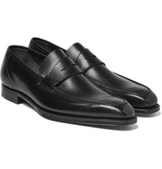f1400323c0c George Cleverley - George Leather Penny Loafers Travel Attire
