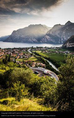 Foto 'Panoramstrasse am Gardasee' von 'derProjektor'