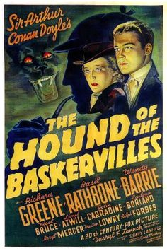 "Darryl T.Zanuck's "" The Hound Of Baskervilles "" -#Film, Music and Books"