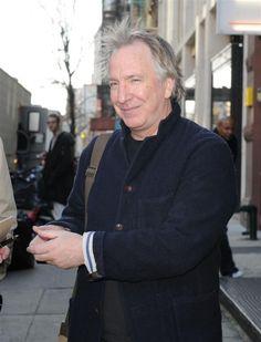 Alan Rickman - apartment hunting in New York | Dec 15, 2008