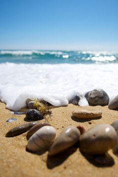 pebbles by Margot Raggett on Flickr.