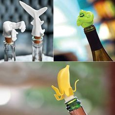9 Cool and Funny Wine Bottle Stoppers