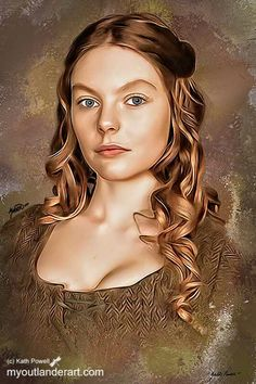 Laoghaire of Outlander... hate the heifer, love the actress!!