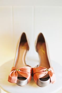 Elegant Pink Heels - Want these shoes!
