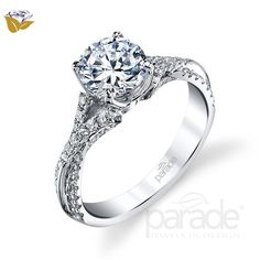 Welcome to Parade Design, designer engagement rings, award winning diamond and colored gemstone fine jewelry, Parade Design Official Site. Vintage Inspired Engagement Rings, Engagement Ring Photos, Round Cut Engagement Rings, Designer Engagement Rings, Wedding Engagement, Wedding Bands, Diamond Are A Girls Best Friend, Beautiful Rings, Colored Diamonds