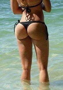 Bikinis in Plump butts