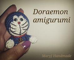 MaryJ Handmade: Tutorial: Doraemon amigurumi