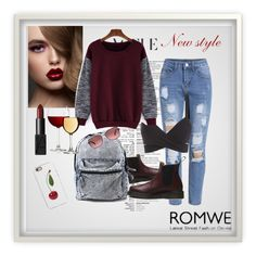 """""""""""Chilling out"""" with Romwe.com: Contest Entry"""" by rose-99 ❤ liked on Polyvore featuring Dr. Martens, NARS Cosmetics, Oakley, women's clothing, women's fashion, women, female, woman, misses and juniors"""