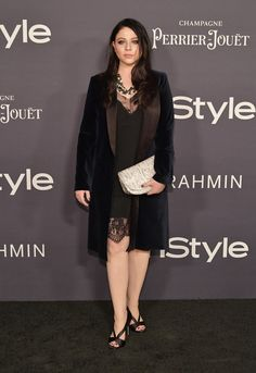 Michelle Trachtenberg Photos - Michelle Trachtenberg attends the Annual InStyle Awards at The Getty Center on October 2017 in Los Angeles, California. Michelle Trachtenberg, Perrier Jouet, Emilie De Ravin, Elton John Aids Foundation, Classic Actresses, West Hollywood, Awards, Getty Center, October 23