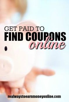 Did you know you can get paid to find coupons online? Coupons.com has a new…