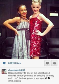 Chloe and Nia