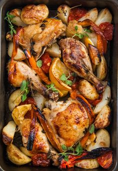 Use lemon, wine and oregano to make this Greek chicken dish.