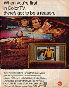 Star Trek, RCA, 1967