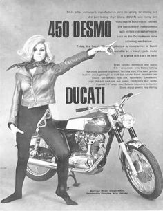 Girl on an old motorcycle: Post your pics! Motorcycle Posters, Motorcycle Art, Motorcycle Goggles, Motorcycle Girls, Ducati Models, Motorcycle Manufacturers, Ducati Motorcycles, Classic Motors, Vintage Bikes