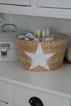 Basket Candle