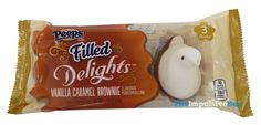 REVIEW: Peeps Filled Delights Vanilla Caramel Brownie