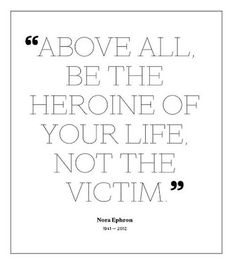 heroine of your life