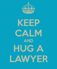 I like hugs and one day I'll be a lawyer, so I mean this is perfect