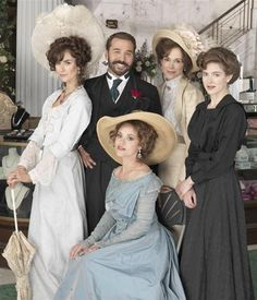 Cast of Mr Selfridge including Jeremy Piven (© ITV) - am now an addict and simply cannot wait for my Sunday evenings!