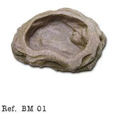 Bebedouro P/ Jabuti Seemanni Terrários Bm-01 - R$ 42,00