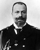 Grand Duke Alexei Alexandrovich, son of Alexander II.  He never married, but had a son (Ct. Alexei Alexeyevich Belevsky-Zhukovskya) who would be recognized by the royal family.  The count came to live in Russia when he was a young man & married a Troubetzkoy. They would have three daughters and one son. Grand Duke Alexei Alexandrovich died before the revolution.  His son survived but vanished in Russia in the 1930s.  His grandchildren all survived and went on to live in Europe & the  U.S.