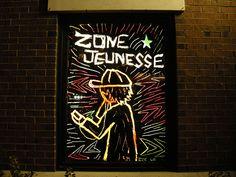 Elizabeth, Laurent et Mohamed Oeuvre D'art, Les Oeuvres, Neon Signs, Urban, Street Art
