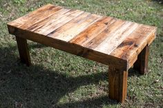 Rustic Coffee Table by MidwoodReclaimed on Etsy
