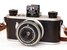 Kodak 35 (c.1938-1948) with Kodex No.1 shutter and Anastigmat 50 lens