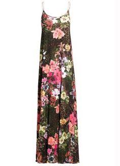 Vestido Longo de Alças Tropical - Posthaus