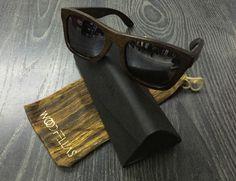 WOOD FELLAS occhiali legno  sunglasses Jalo Brown Silver polarizzato