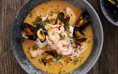 Fiskesuppen over dem alle - fit living - ALT. Live Fit, Thai Red Curry, Ethnic Recipes