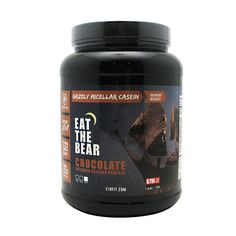 Eat The Bear Grizzly Micellar Casein Chocolate - 1.6 pounds #fitness #healthy #health #sports #fitnessmodel #gym