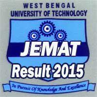 WBUT JEMAT 2015 Result
