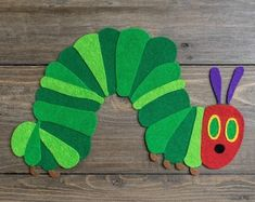 Felt Book Very Hungry Caterpillar Gift for birthday Gift for | Etsy Felt Board Stories, Felt Stories, Eric Carle, Butterfly Cocoon, Felt Fruit, Orange Book, Very Hungry Caterpillar, Chenille, Sensory Toys