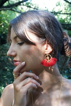 Kiama Jóias   BOHO Earrings em Prata de Lei 925