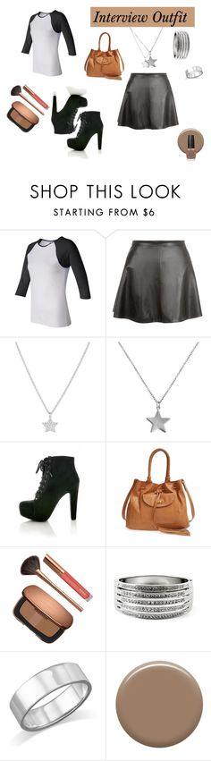 """""""Interveiw Outfit"""" by vivianrose-11 on Polyvore featuring La Preciosa, Belcho, Big Buddha, Bare Escentuals, GUESS, Lauren B. Beauty and OPI"""