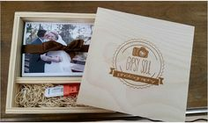 Our Rustic Wood Box for Prints & Flash by Gypsy Soul Photography!