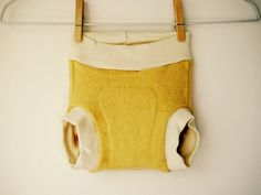 Small Cashmere Wool Soaker Diaper Cover  Organic Leg by FaeArbor, $36.00
