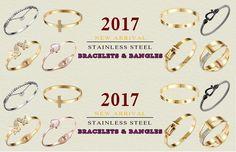 Love Forever Screw Embossed Bracelet & Bangle For Women + Gift Bag