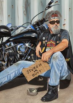 The panhandler by Scott Jacobs