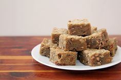 Brown Butter Blondies With Pecans