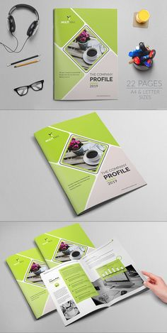 Company Profile Brochure by Layout Design Ltd on @Graphicsauthor