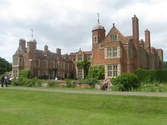 Kentwell Hall, is a moated manor house in Long Melford, Suffolk. Most of the current building facade dates from the mid 16th century, but the origins of Kentwell are much earlier, with references in the Domesday Book of 1086.