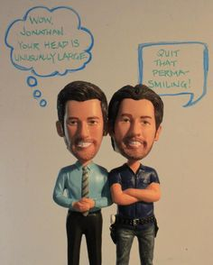 Jonathan Scott and Drew Scott bobbleheads!