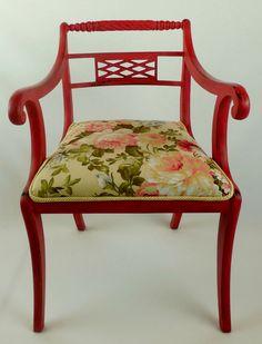 Chair ''Narciso''  Vintage Shabby Biedermeier von www.motleychairs.de auf DaWanda.com