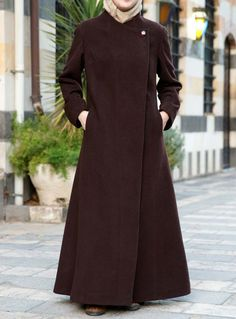 Tailored Wool Jilbab from Shukr USA