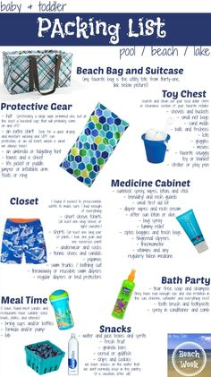Oh Boy, Cato!: * Beach Week * Packing List