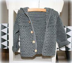 Crochet For Kids, Diy Crochet, Crochet Baby, Baby Kids, Baby Boy, Baby Vest, Crochet Cardigan, Summer Baby, Baby Knitting Patterns